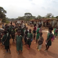 Kamerun cesta pralesem Kribi Gabon rozcestí
