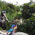 Gabon, zkratka pralesem, hledame cestu dál