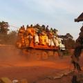 Kongo, Mindouli - spaní u domorodců