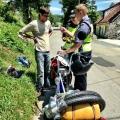 Majacek a sacovani hrvatskou policiji