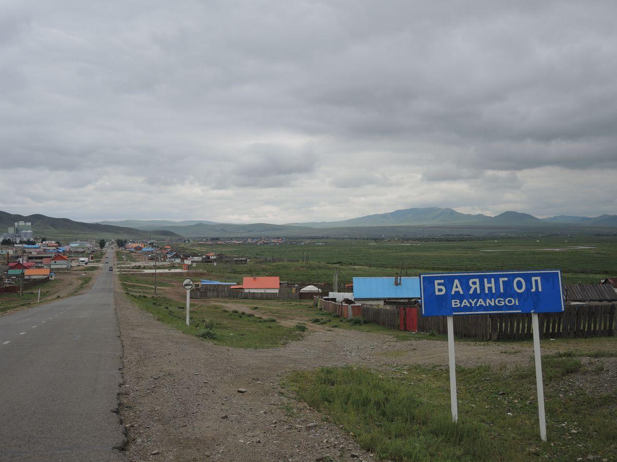 Mongolská krajina