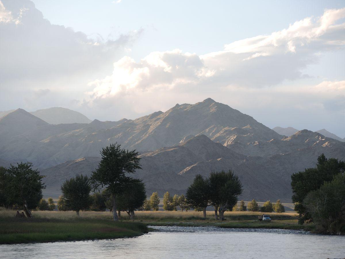 Nádherné hory Mongolska