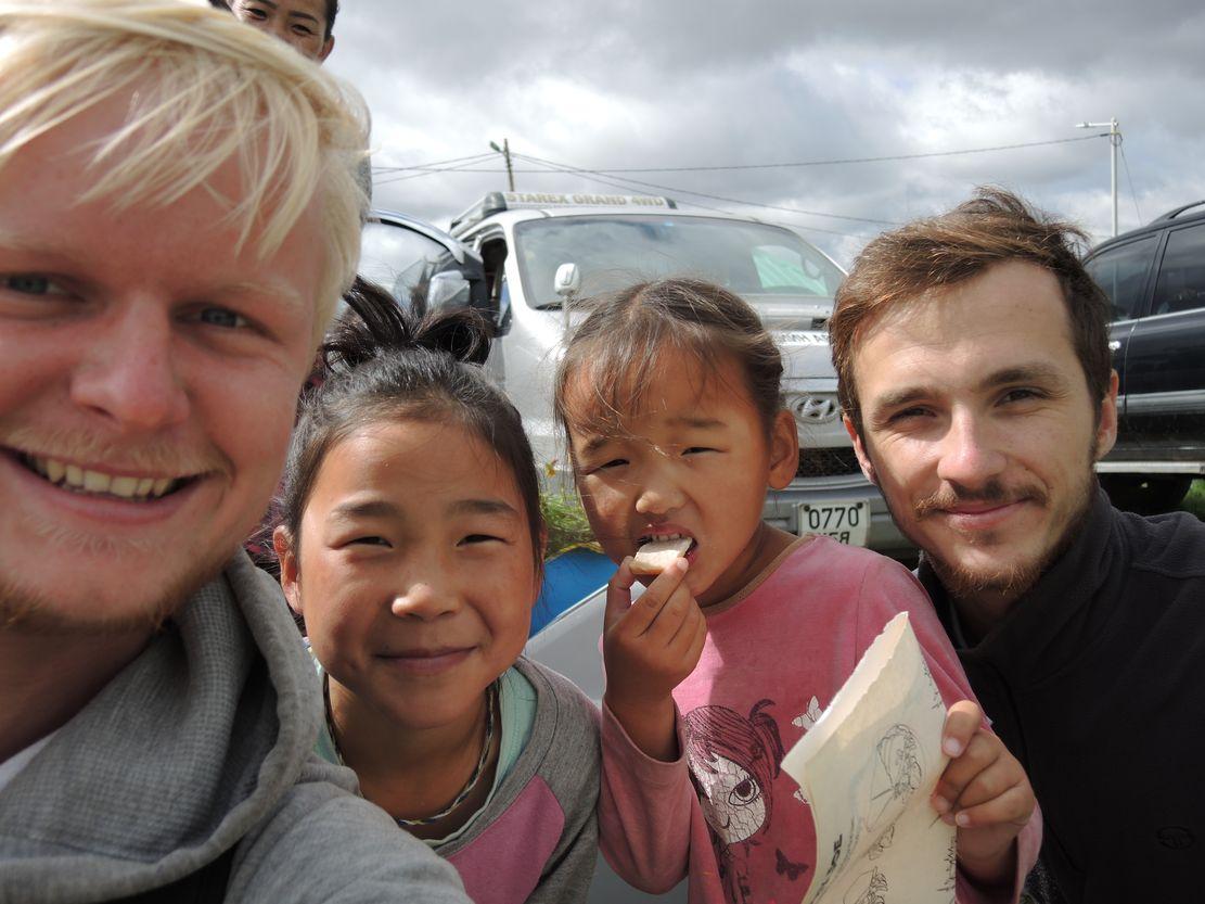 Návštěva dětí