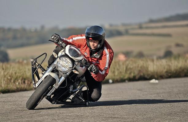 bezpečně na motorce, Míra Lisý