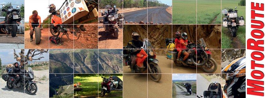Motoroute, motořkáři, cestování kolama dolu
