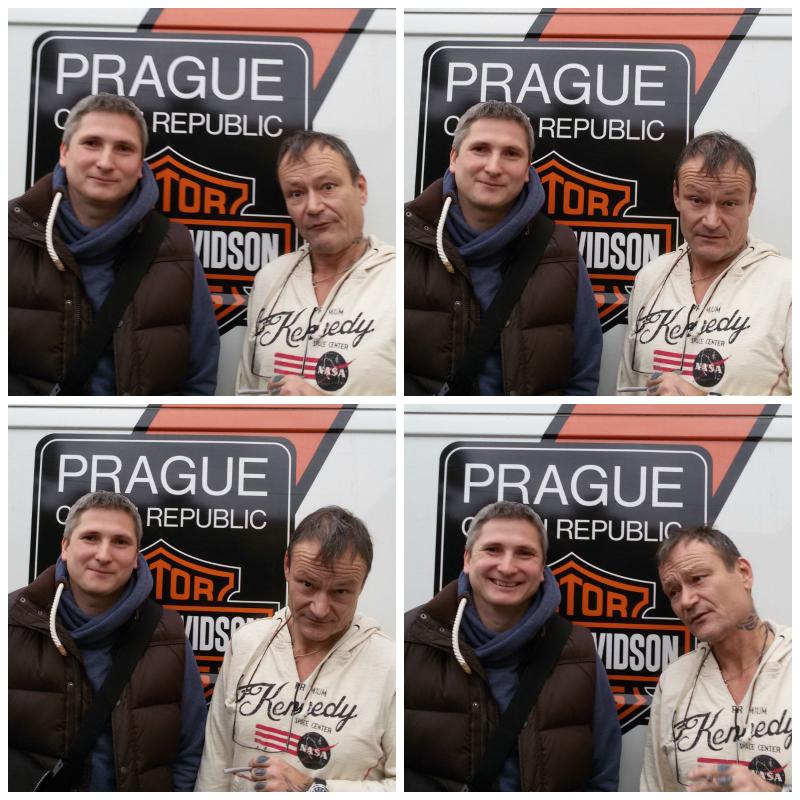 Aleš Poláček a Pavel Kubíček po rozhovoru pro Kolama dolu